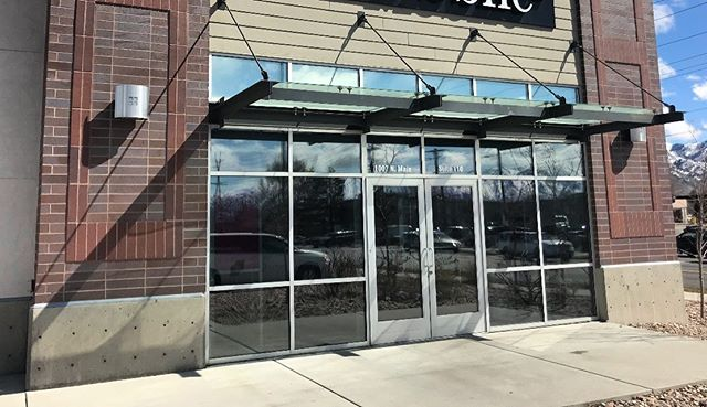We tinted this store in Logan with our Suntek Symphony and Suntek Ultra Vision window films.  They block up to 79% of the sun's energy (heat) and up to 99% of the UV to help keep customers cool and comfortable and to protect product from the fading.  #simplycool #simplycoolwindowtinting #windowtinting #windowtint #suntek #suntekfilm