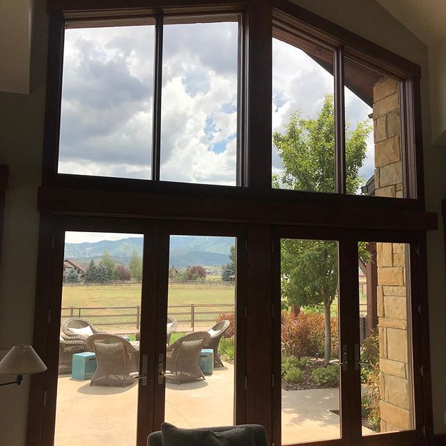 Suntek's Drds 35 gets up to 50% heat rejection.  It's your home, enjoy the view!  #simplycool #simplycoolwindowtinting #windowtinting #hometint #windowtint #suntek #drds35 #enjoytheview
