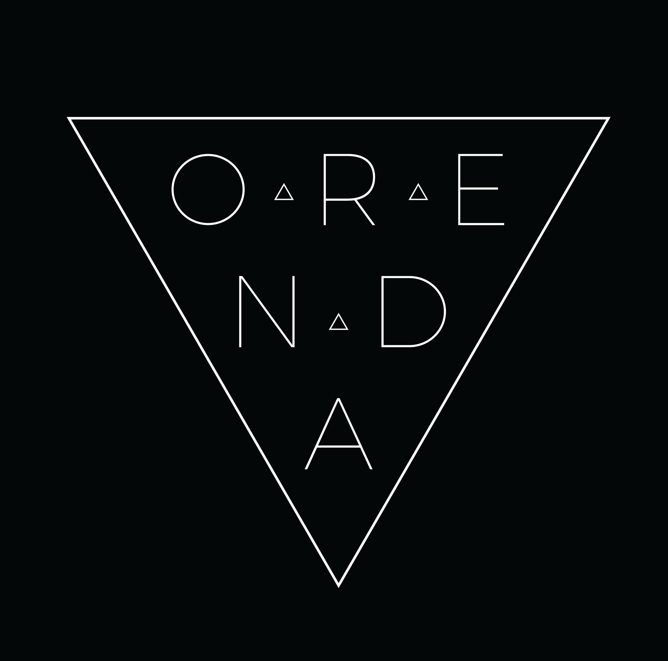 Orenda Logo inside triangle - Square Black.png