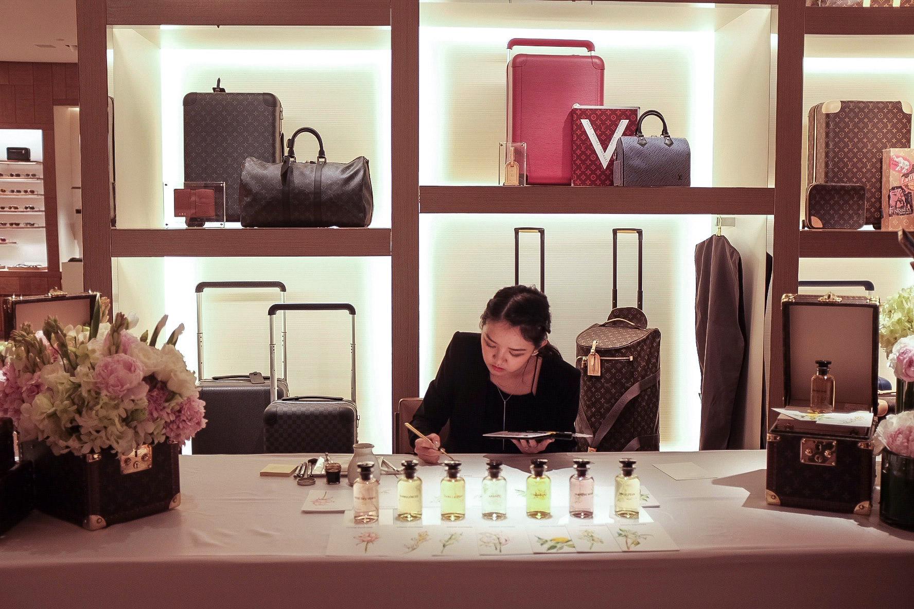Louis Vuitton Illustrations