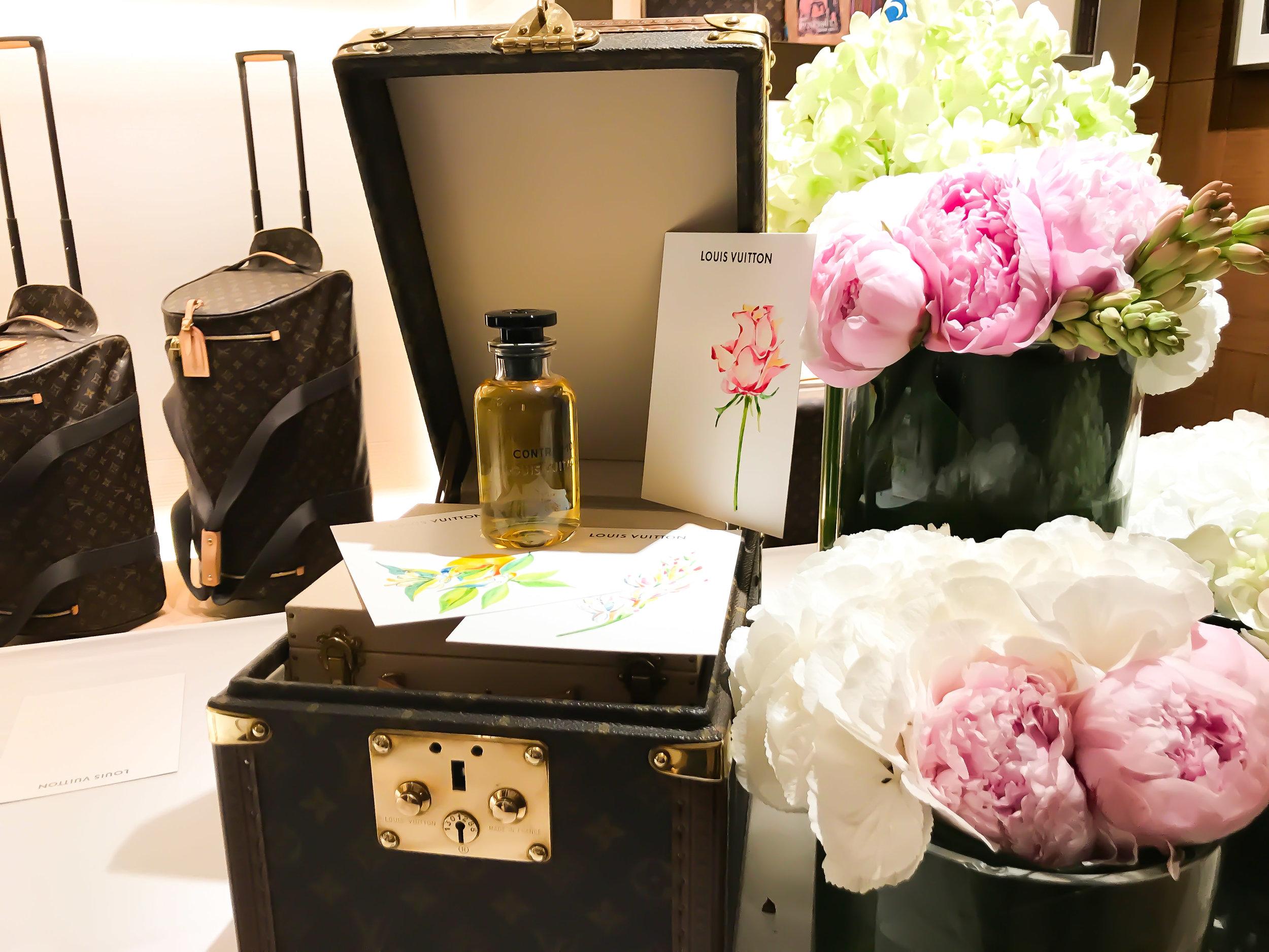 Louis Vuitton Les Parfums launch