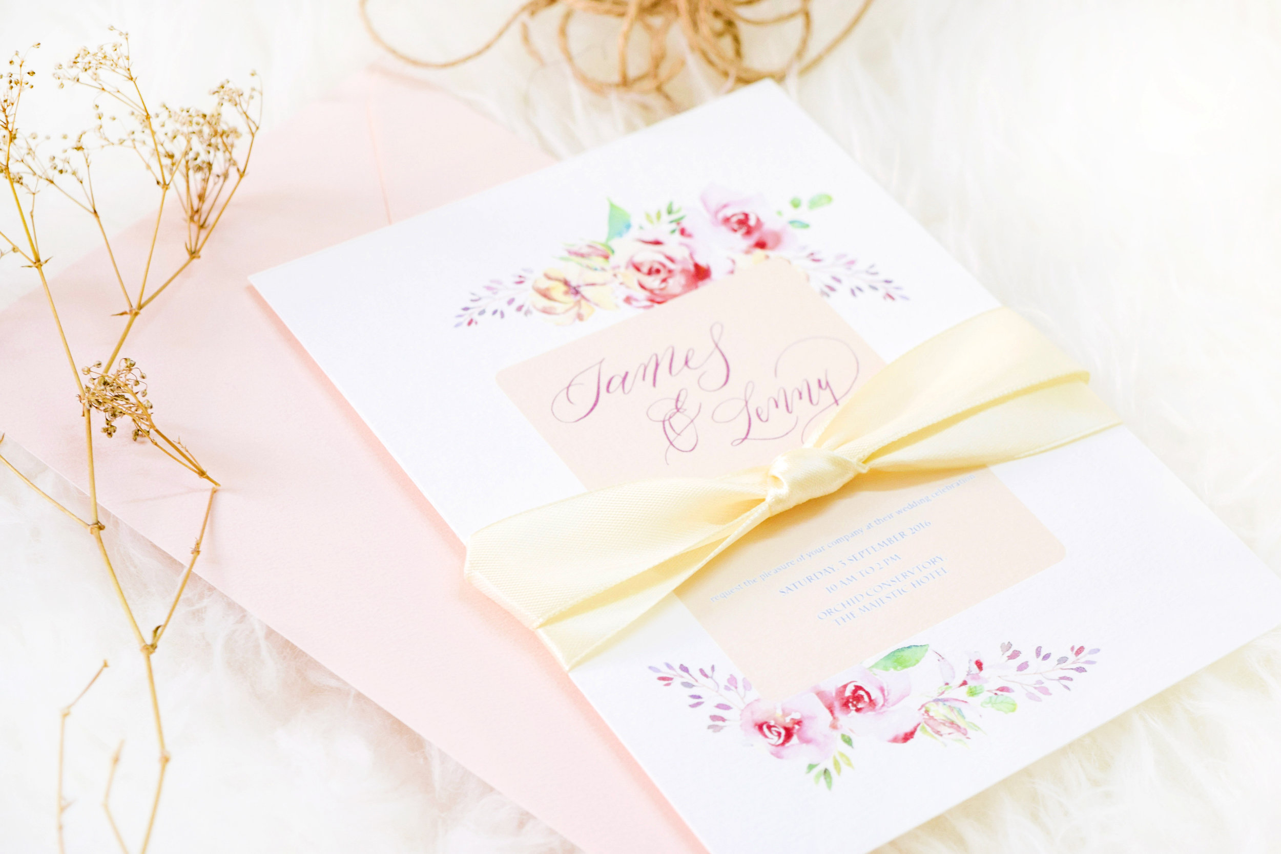 Bespoke calligraphy - Personalised calligraphy and design for weddings, corporate events, parties and more ! Think bespoke invitation suites, calligraphy wedding vows, place cards, menus and stationery, we look forward to making your visions a reality today.