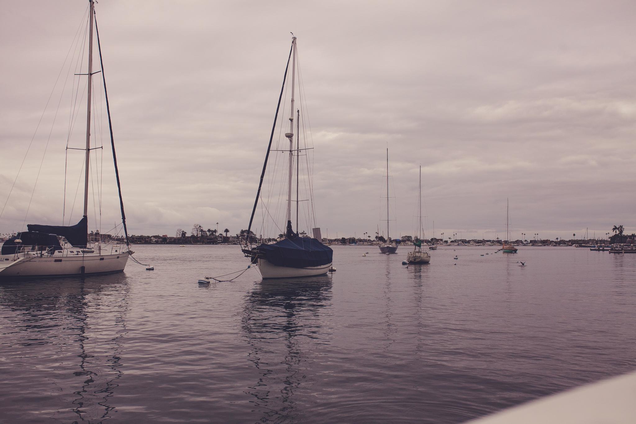 Very memorable boat trips at Newport beach.
