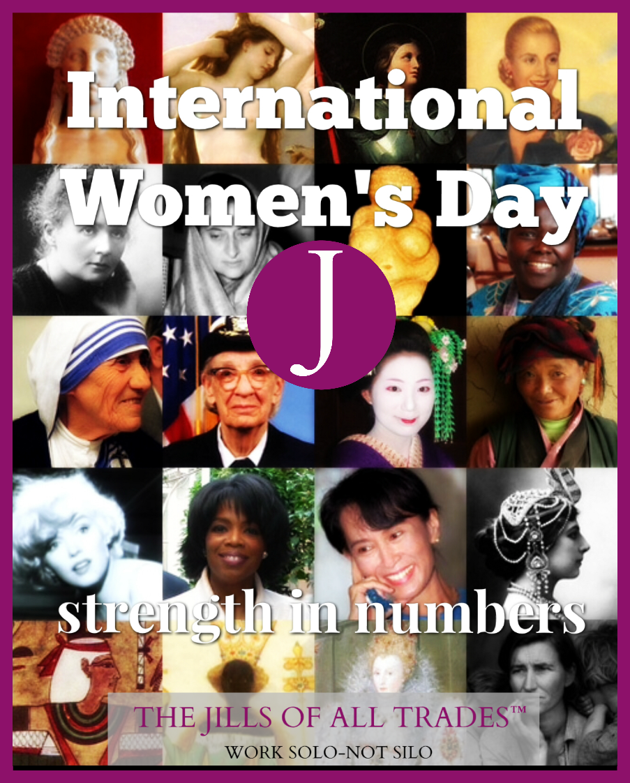 THE JILLS OF ALL TRADES™ International Women's Day