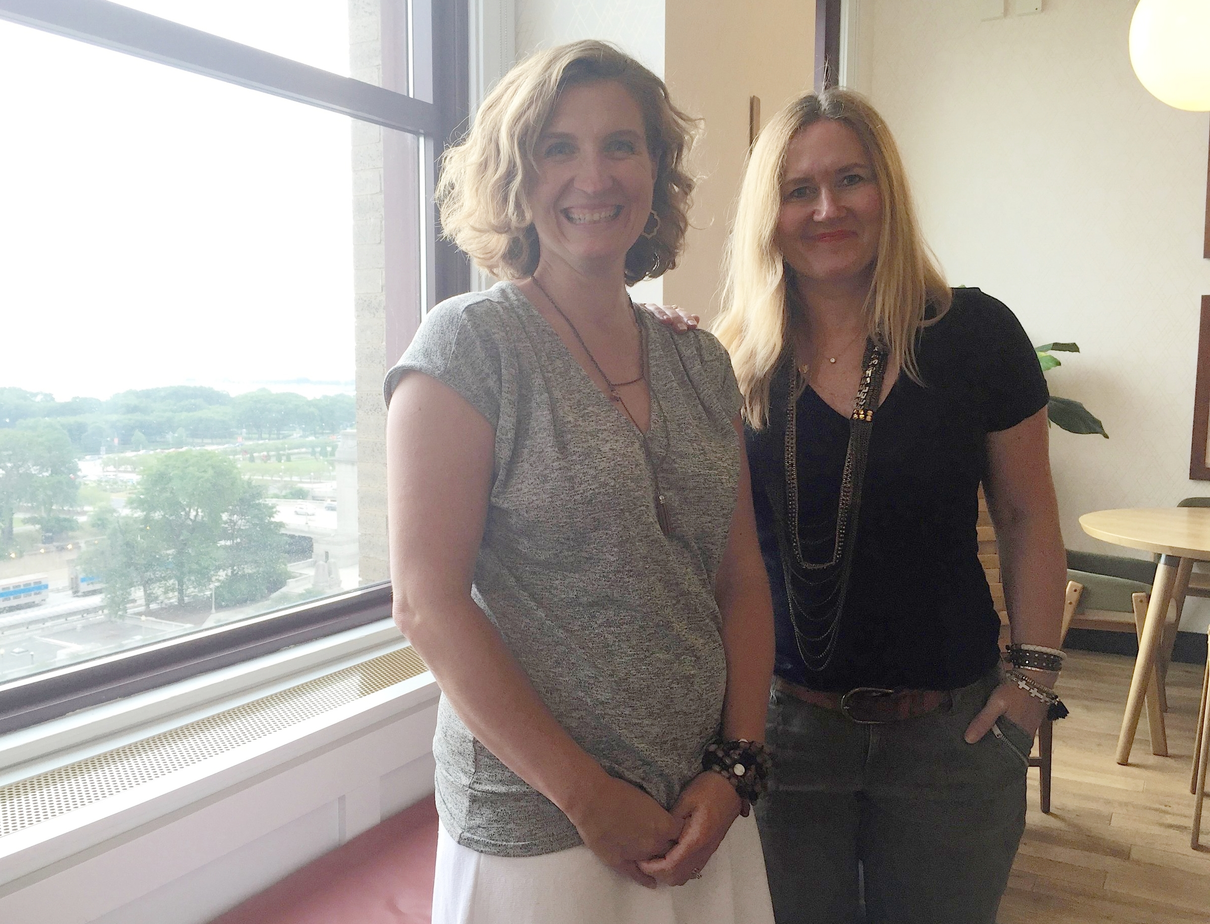 Cofounders Corinne Neil & Megan A.C. Boswell