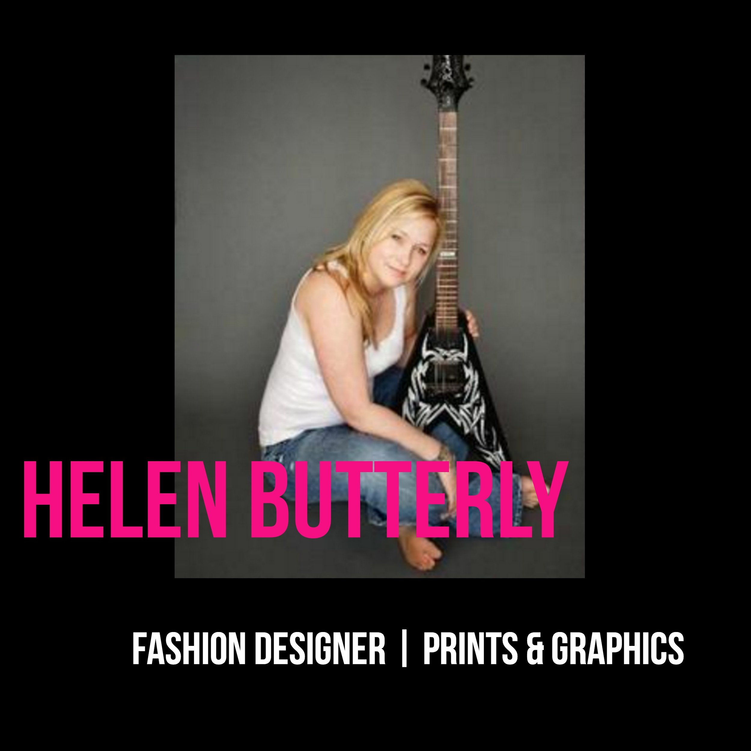 THE JILLS OF ALL TRADES™ Helen Butterly Fashion Designer Prints & Graphics
