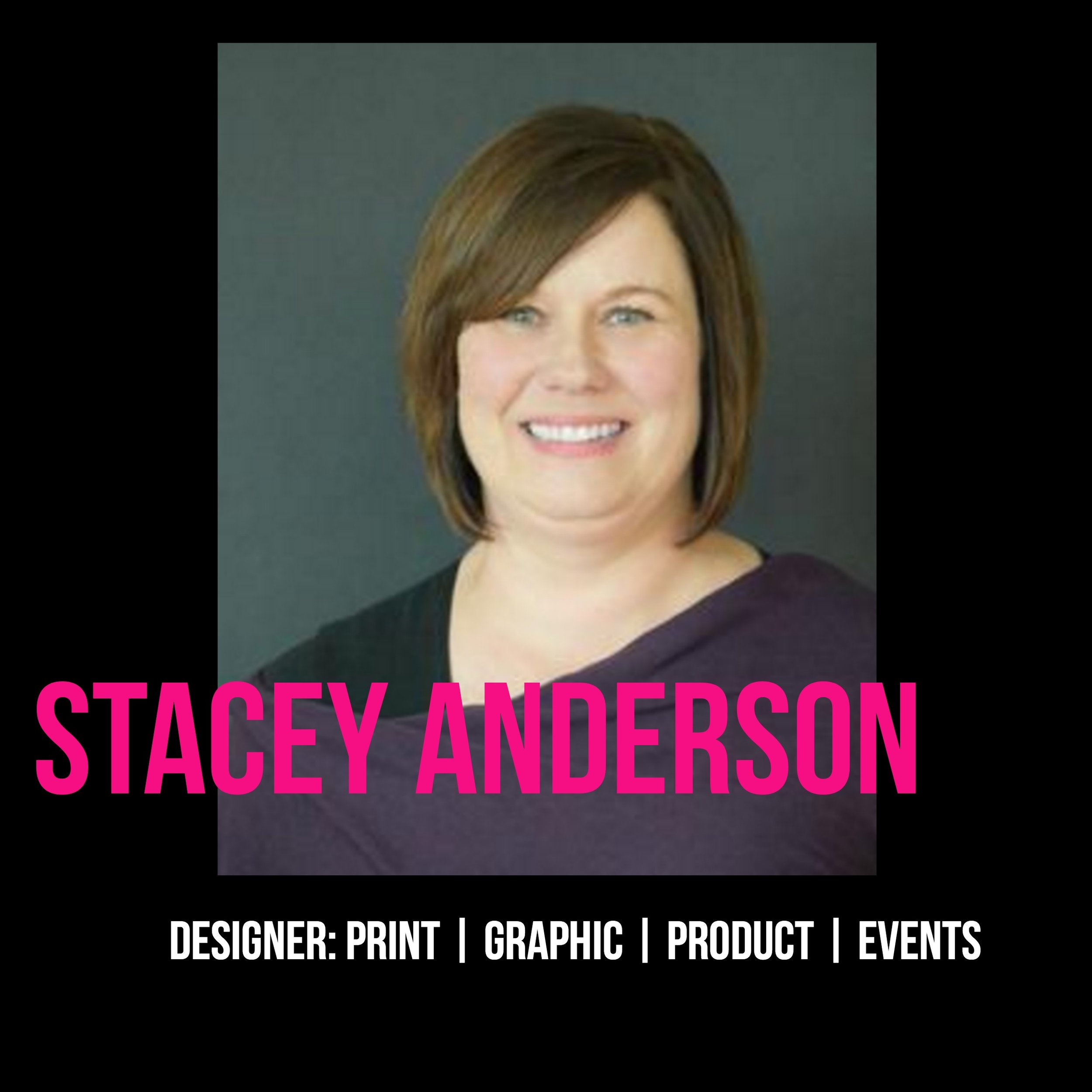 THE JILLS OF ALL TRADES™  Stacey Anderson -Designer: Print, Graphics, Product, Events
