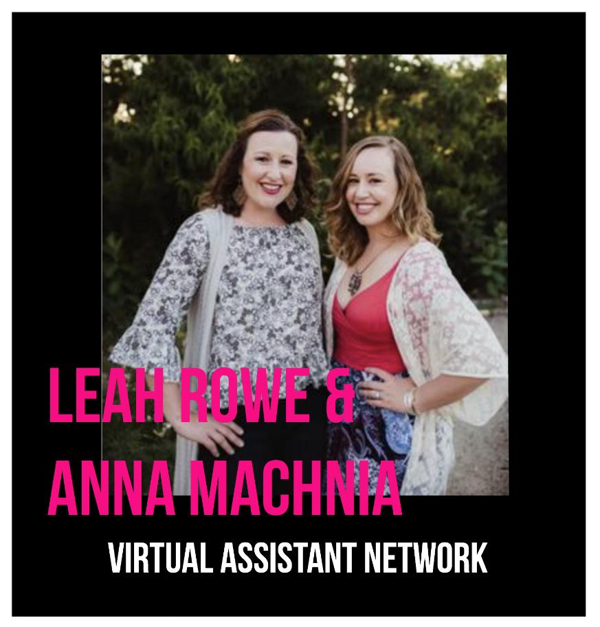 THE JILLS OF ALL TRADES™ Mavan Virtual Assistant Network Leah Rowe and Anna Machnia