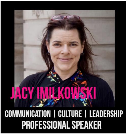 THE JILLS OF ALL TRADES™ member Jacy Imilkowski Professional Speaker: Communication, Company Culture & Leadership