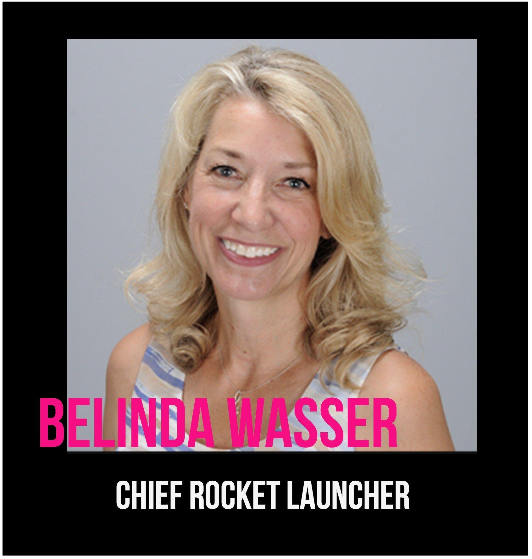 THE JILLS OF ALL TRADES™ Belinda Wasser Chief Rocket Launcher