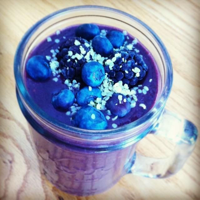 Blue-tiful Smoothie image taken by Kat Maltarp