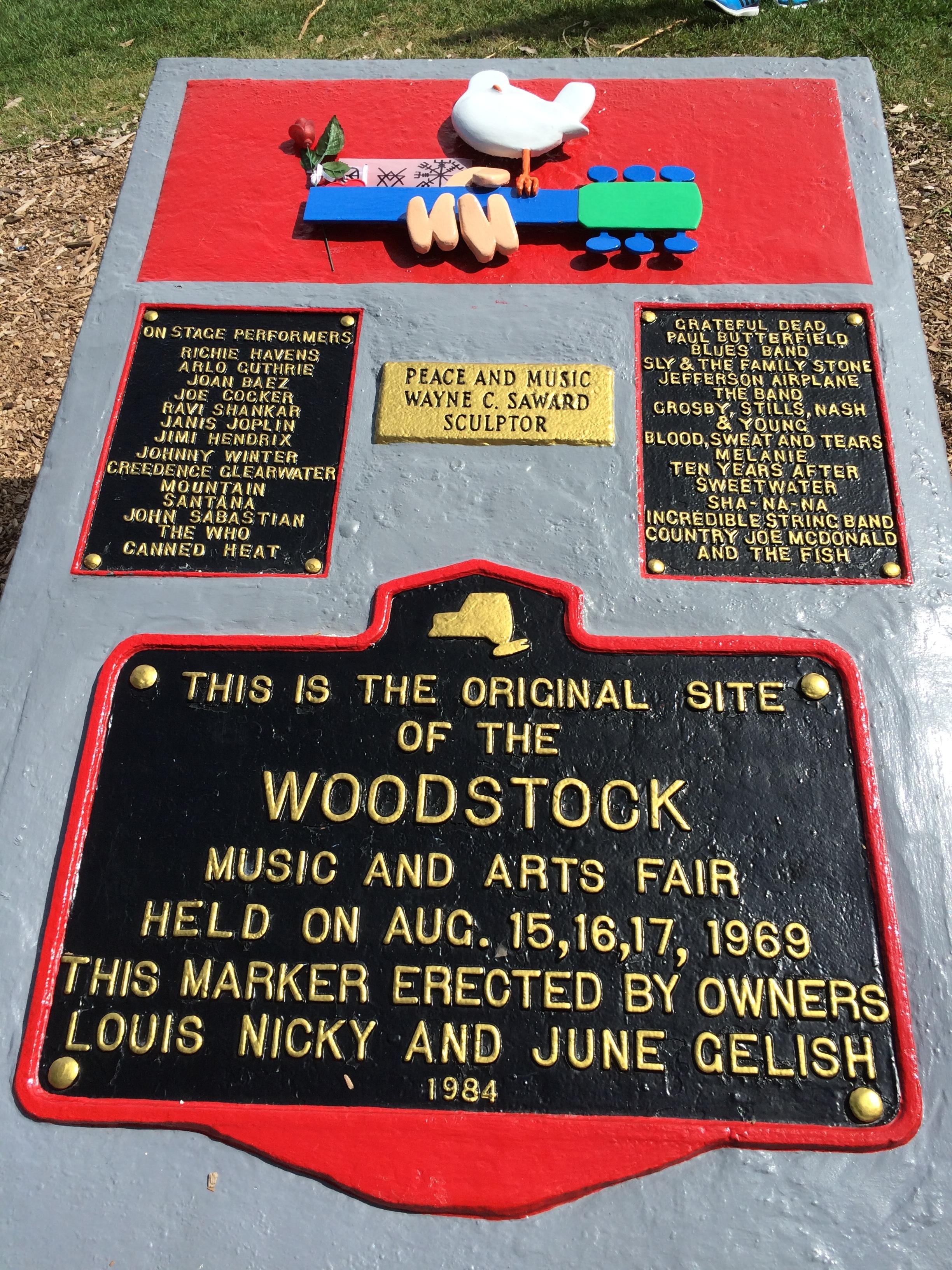 Woodstock Plaque  (Jennifer Merrick)