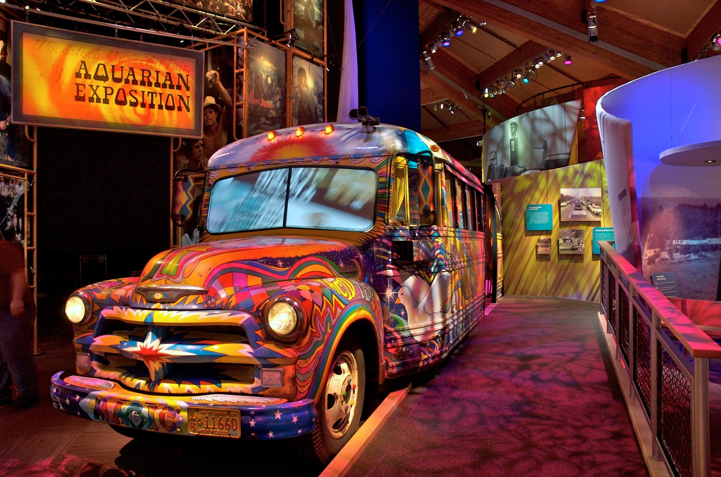 Interior Bus  (Bethel Woods Museum)
