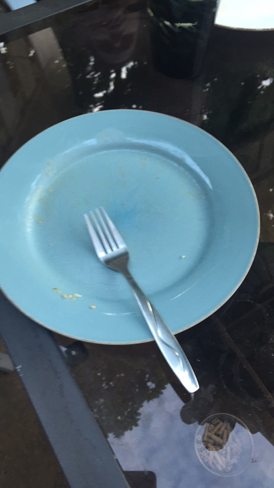 The aftermath of this delicious meal