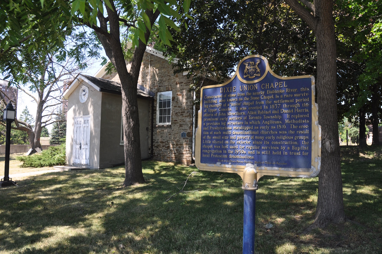 The Dixie Union Chapel and Cemetery where many of the Silverthorn family are buried.