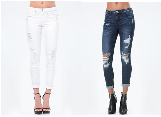 BEBE Heartbreaker Jeans, $74.99 USD and up