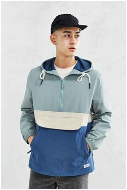 Urban Outfitters CPO Citywide Colourblock Anorak Jacket, $94