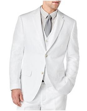 PERRY ELLIS  Linen Blend Jacket, $233.40