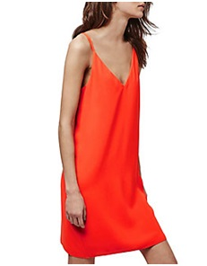 TOPSHOP  Cross Strap Slip Dress, $60