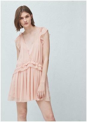 Ruffled Dress , $79.95