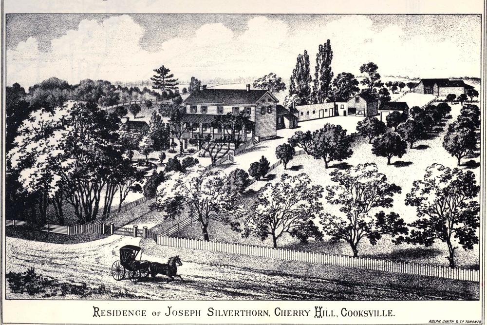 Cherry Hill circa 1822.