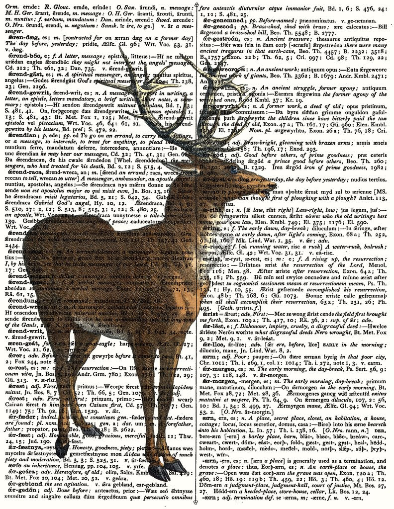Not just puzzles, they're art! Rosewood Puzzle Co. combines traditional puzzle manufacturing methods with creative and trending images that are crafted with the finest quality prints. Moose print on newspaper background puzzle, $65.