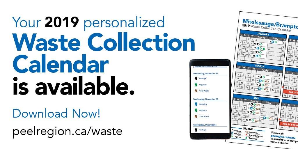 Region of Peel 2019 Waste Calendar Modern Mississauga Media.jpg