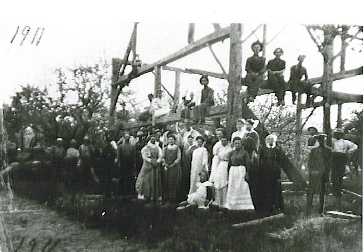 Cavan Barn Raising, 1911