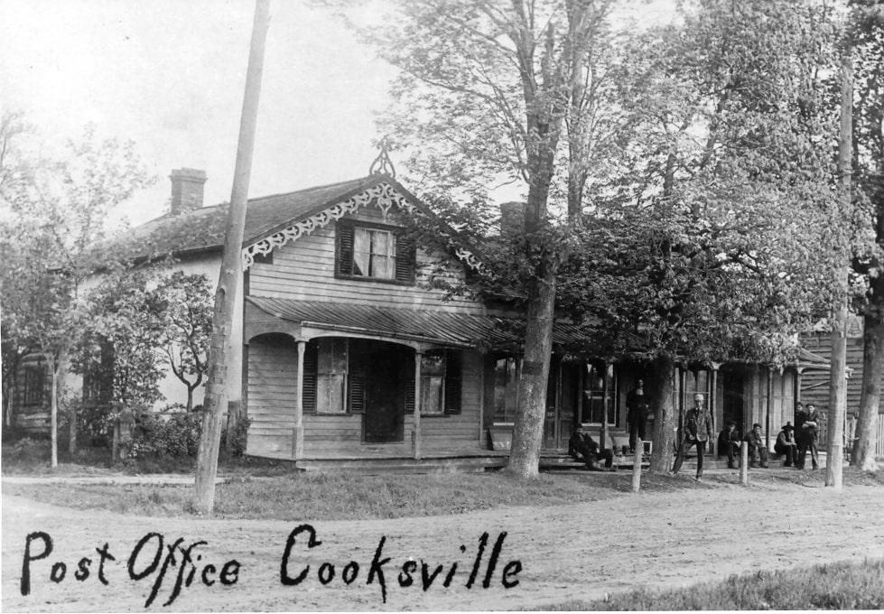 Cooksville - Cooksville Post Office, c1915.jpg