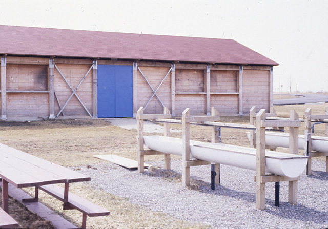 Camp Totoredaca - Activity Hub Building, 1994, from Mississauga Library System.jpg