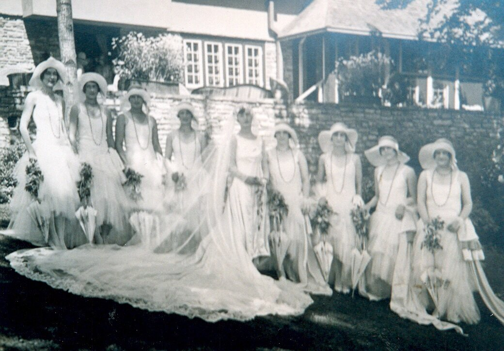 Wedding Party of Maggie Parker at Riverwood, 1926.jpg