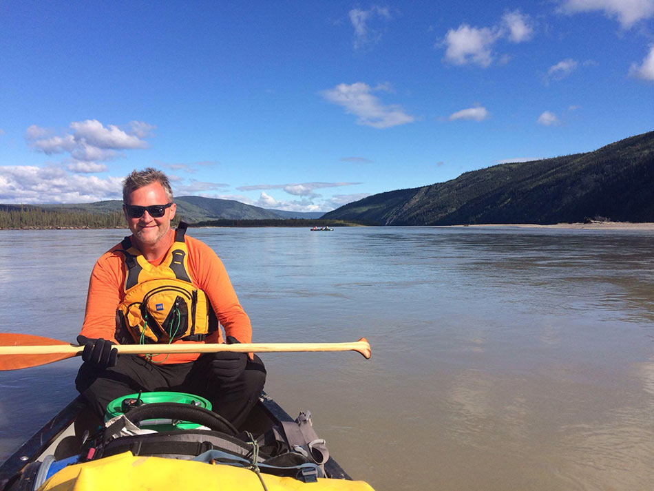 "Yukon river canoe paddling with Jeff ""Willy"" Willis"