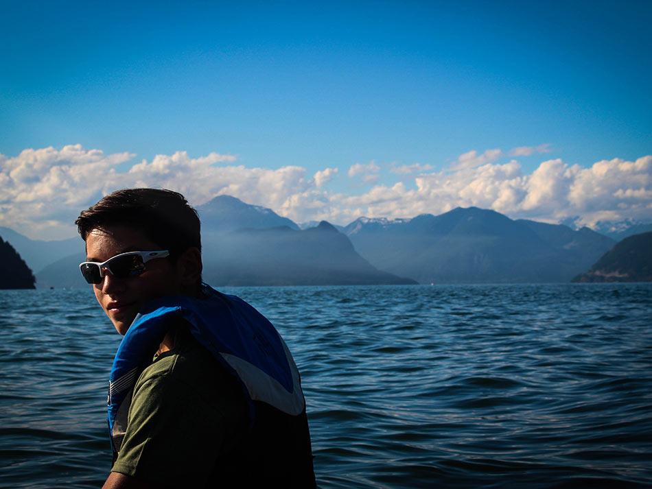 British Columbia - BC swimming and paddling
