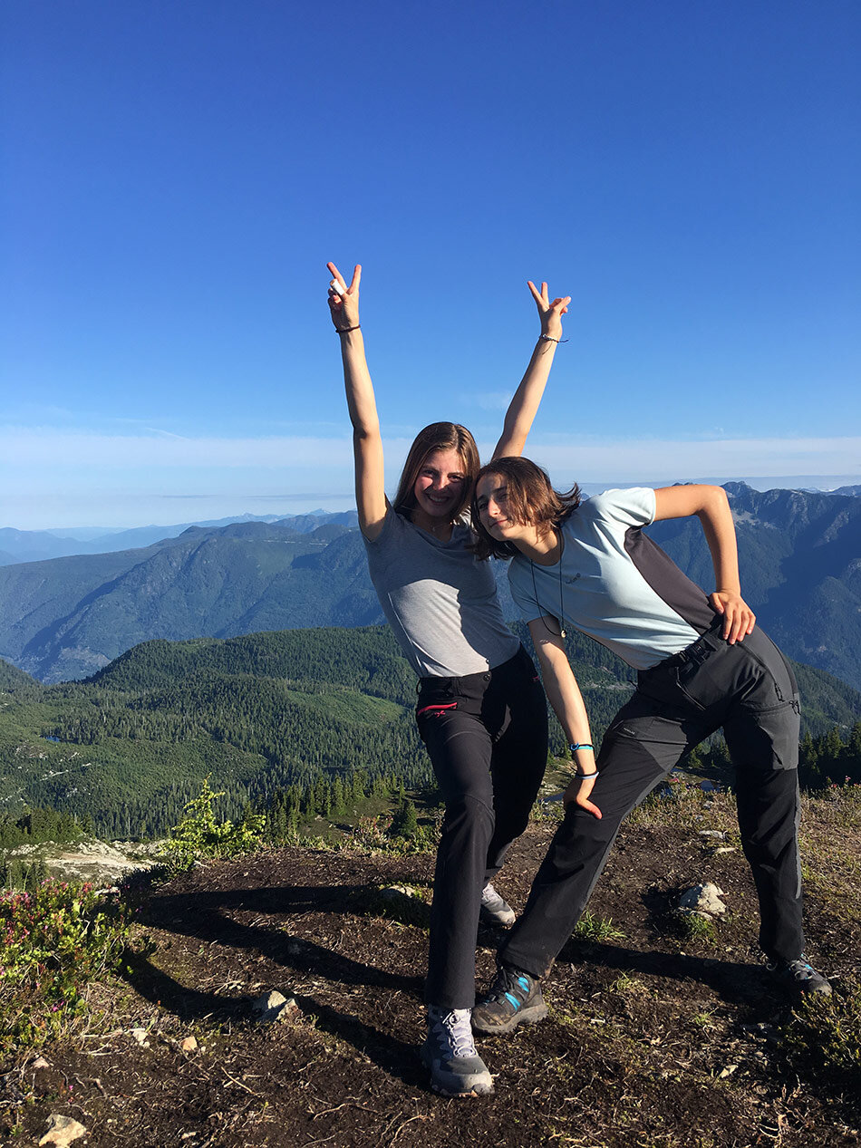 World Bound Ecuador on top of mountain