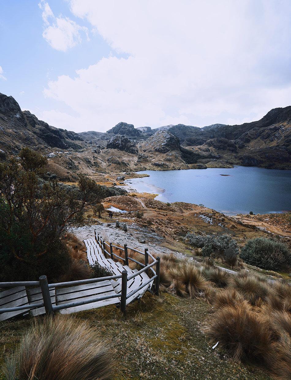 Ecuador beautiful trail
