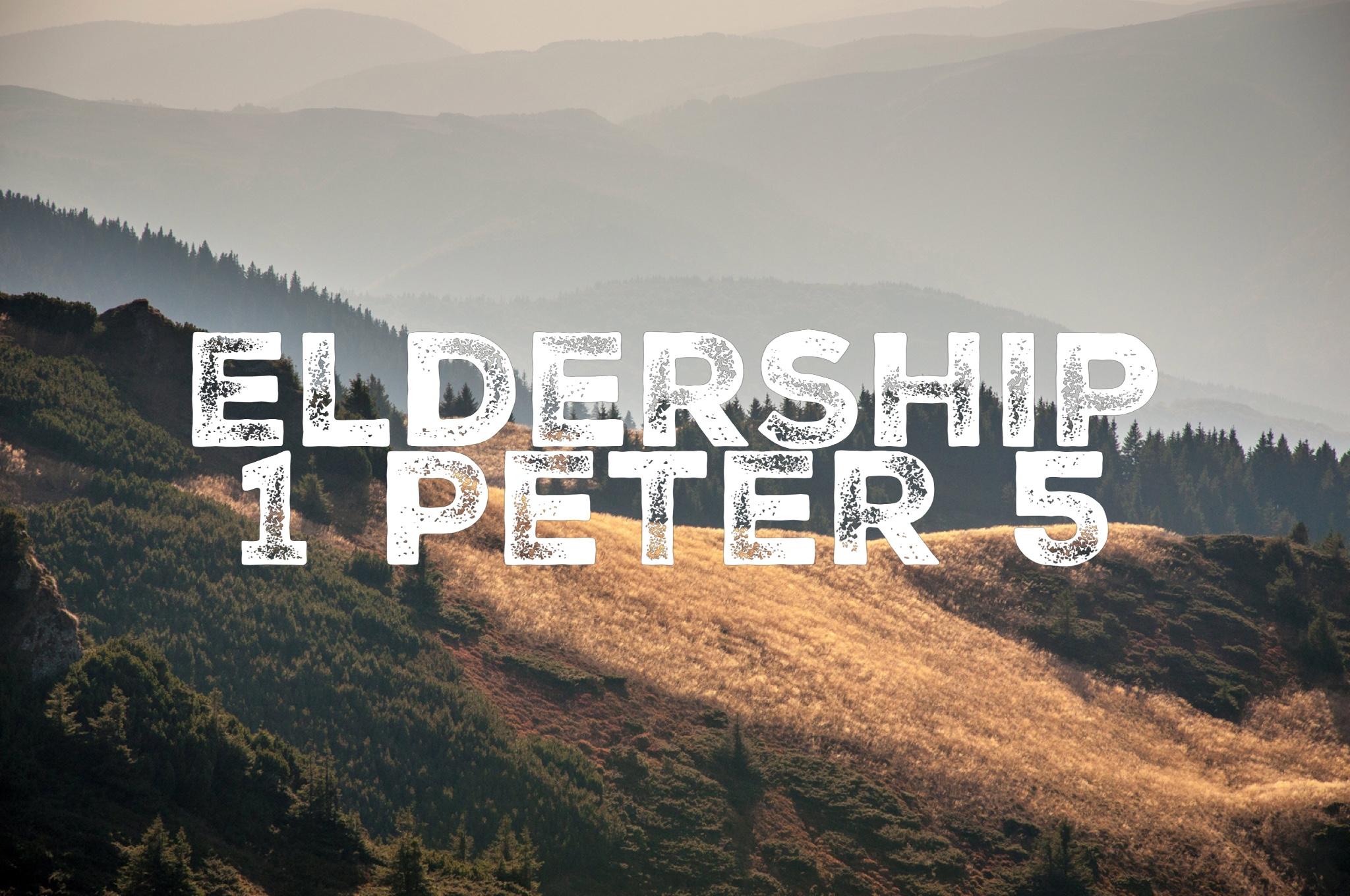 23/10/16  1 Peter 5