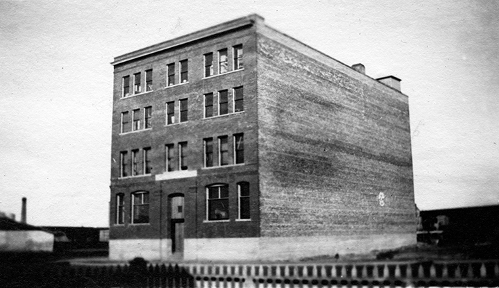 Mercer Warehouse, ca. 1912