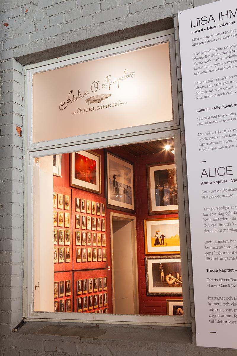 2011 Alice in Wonderland, group exhibition Logomo, Turku, Finland