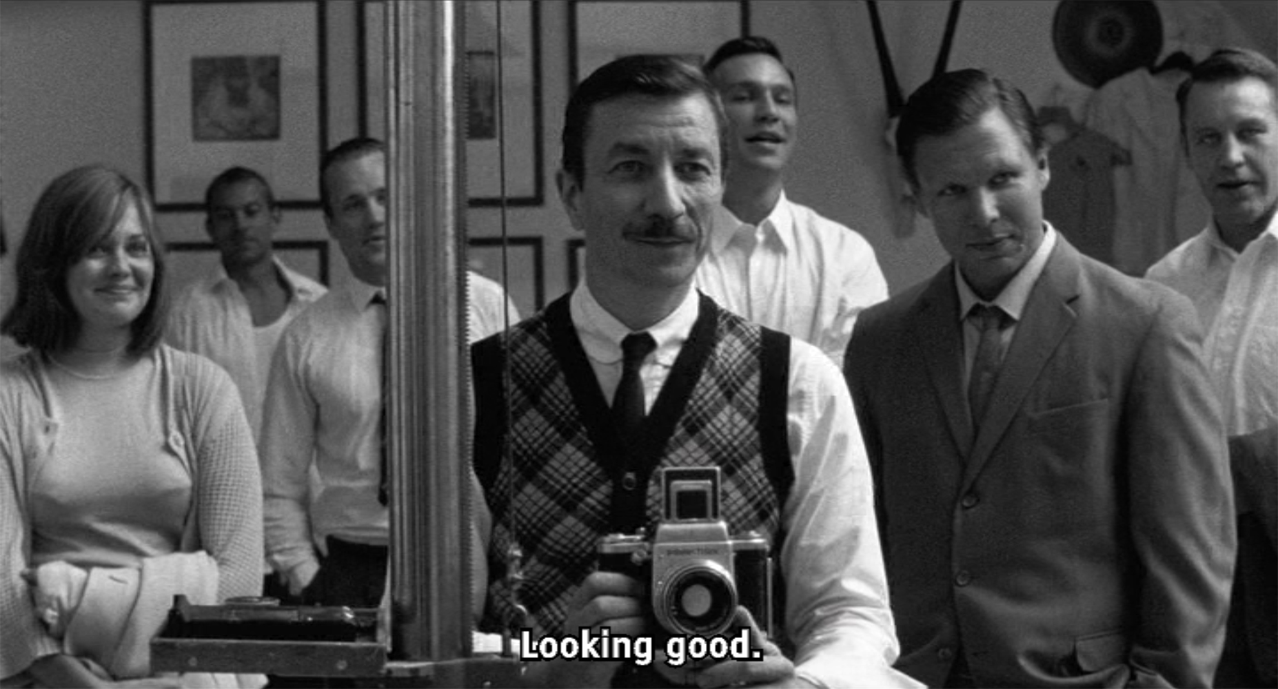 "Still from the film ""The Happiest Day in the Life of Olli Mäki"""