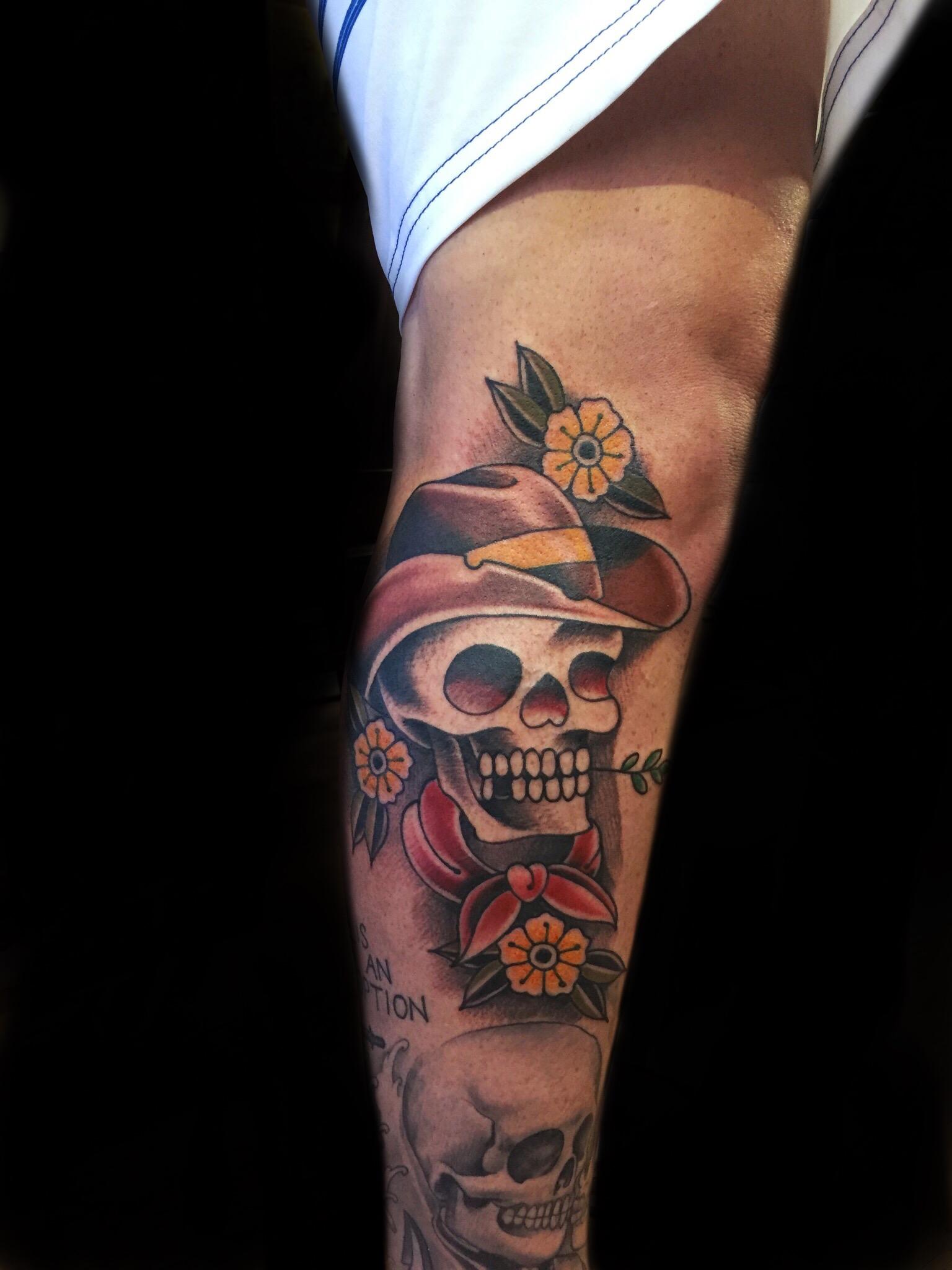 cowboy skull