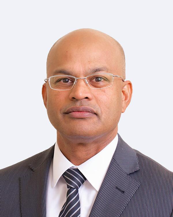 Mr. Uvarasen K Naidoo