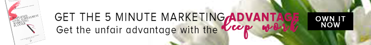 The 5 Minute Marketing Planner