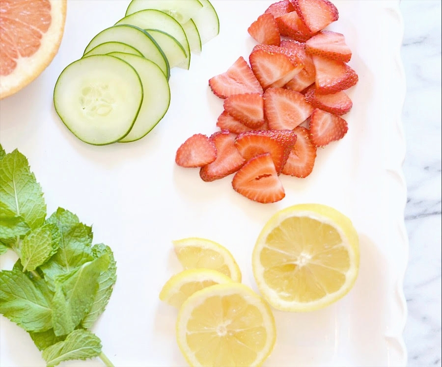 holistic health, fruit infused water