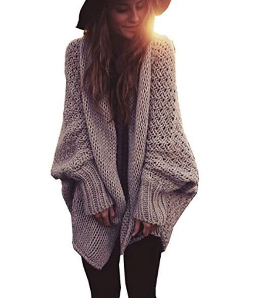 Loose Batwing Must Have Kint Sweater
