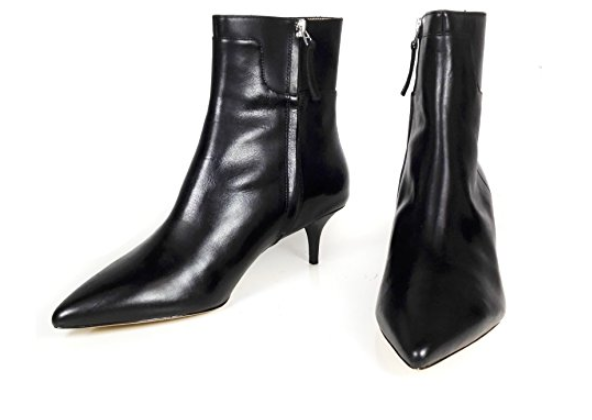 Zara Mid Heel Ankle Boots
