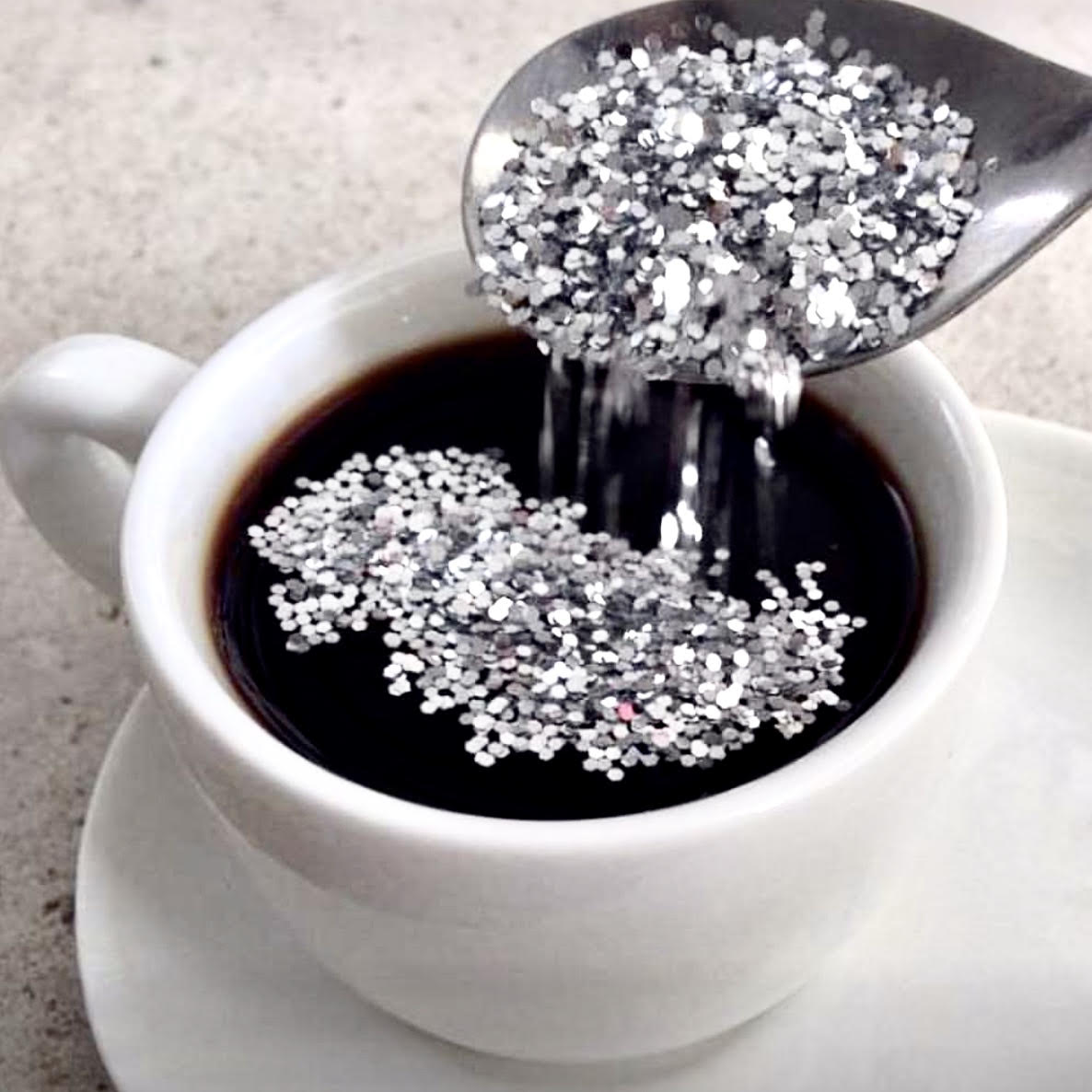 Multiply your sales and results, coffee, sparkles