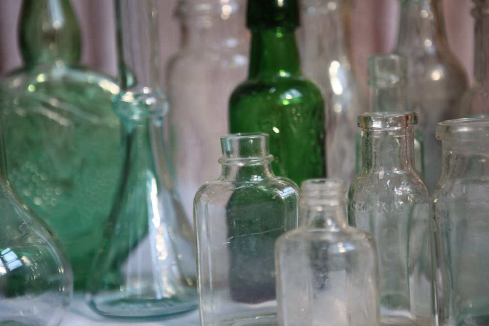 Vintage & Unusual Bottles & Jars