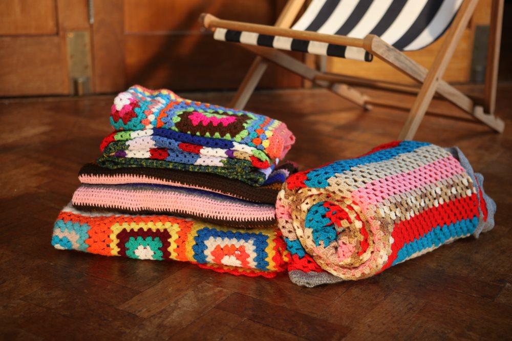 Crochet Blanket Set