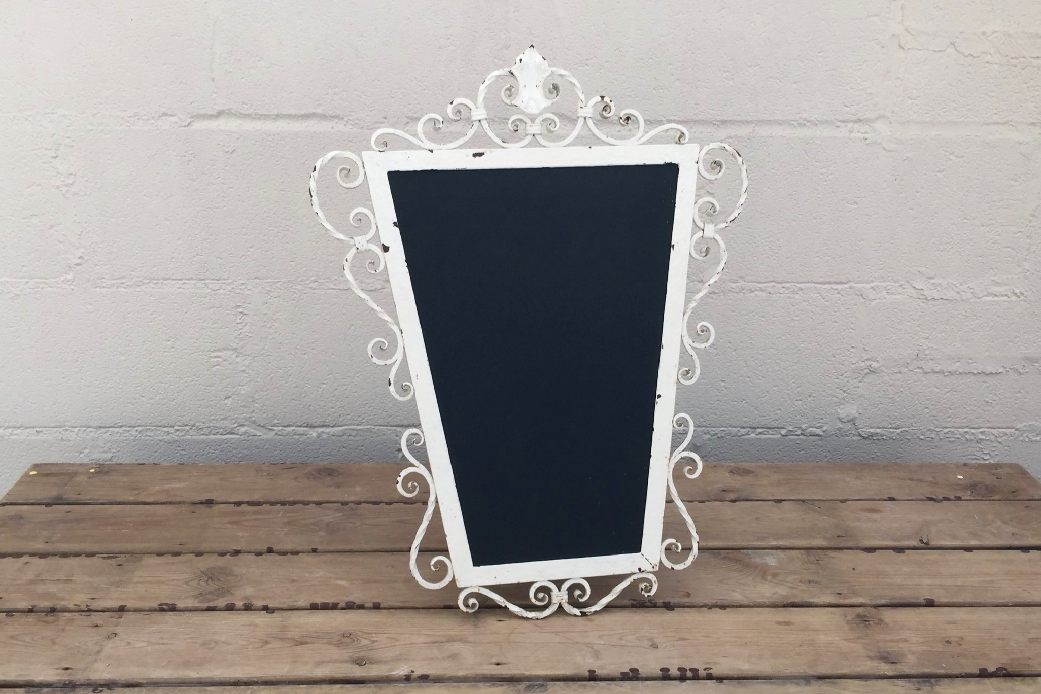 Ornate Metal Chalkboard