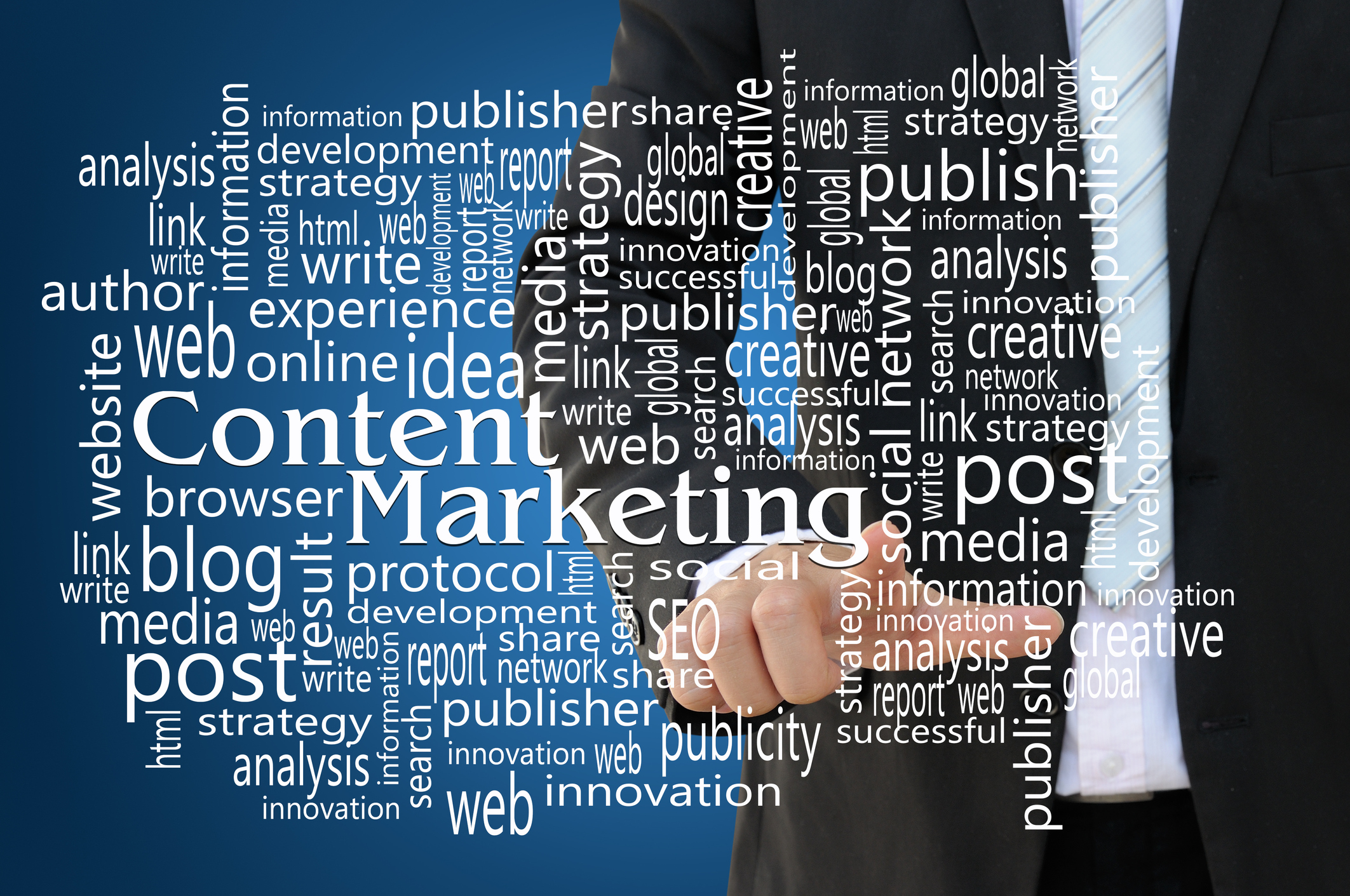 Content marketing strategy in house training
